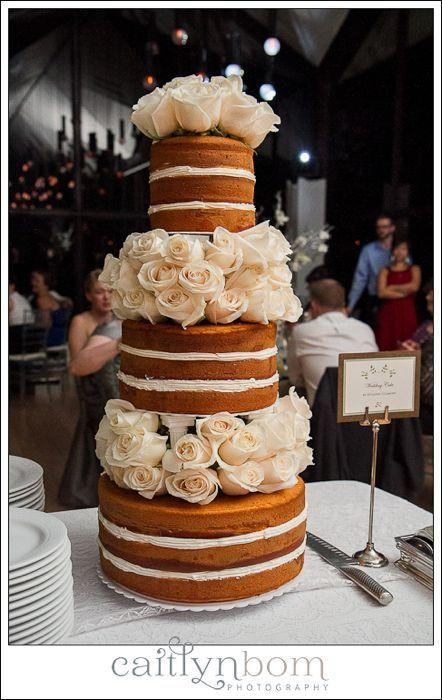 زفاف - كعكة عارية