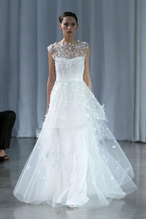 Monique Lhuillier - Monique Lhuillier Wedding Gowns #2047144 - Weddbook