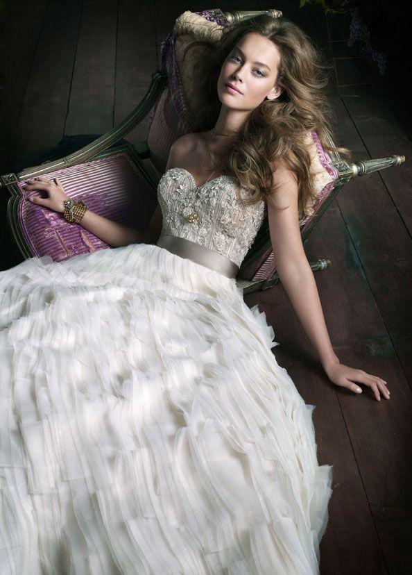 Kleiden - Lazaro Brautkleider #2047166 - Weddbook