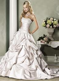 gathered wedding dresses google search