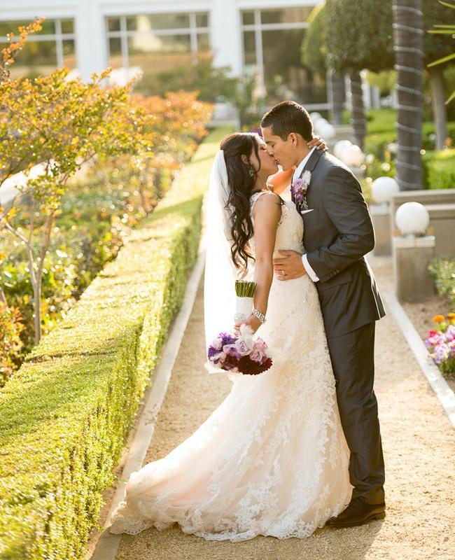 Mariage - Un mariage pourpre élégant par studio EMP