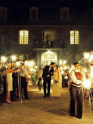 Wedding - Sparklers