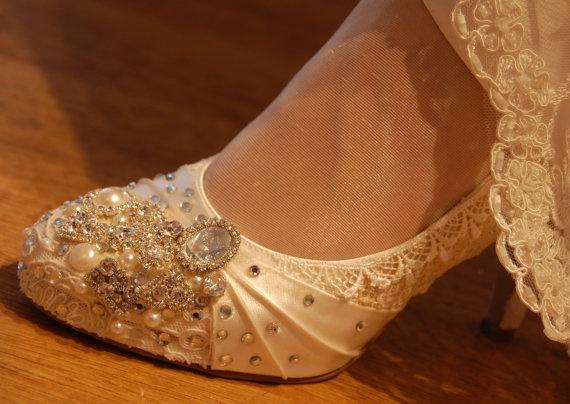 chaussure strass swarovski