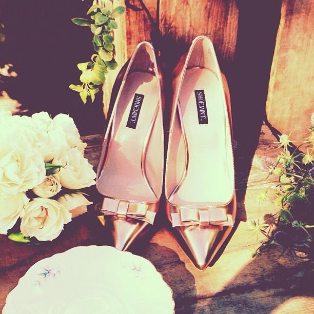 زفاف - حذاء رومانسي