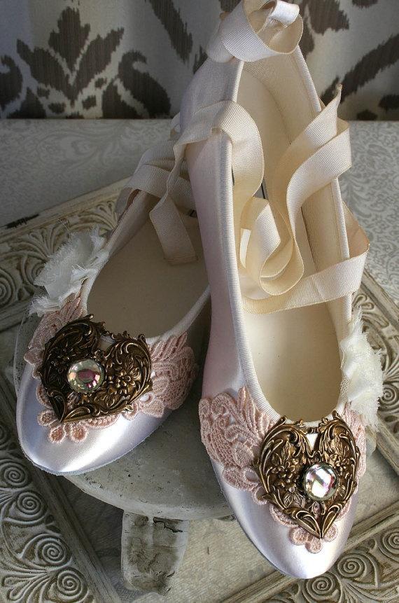 SELINA Romantic Victorian Wedding Shoes