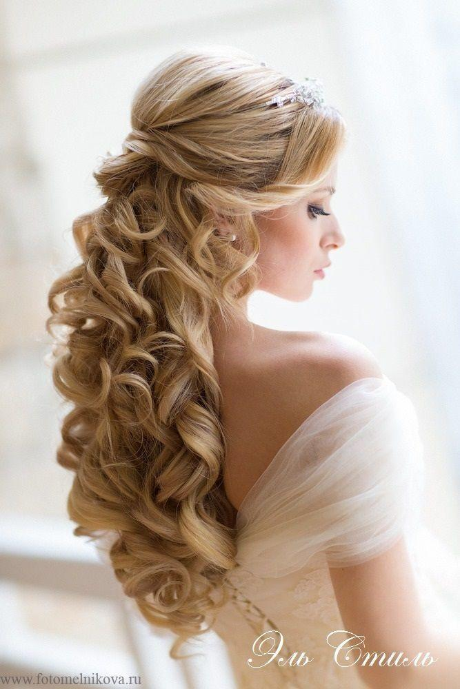 Wedding Hairstyles - Wedding Hair.. Love The Long Curls #2047555 ...