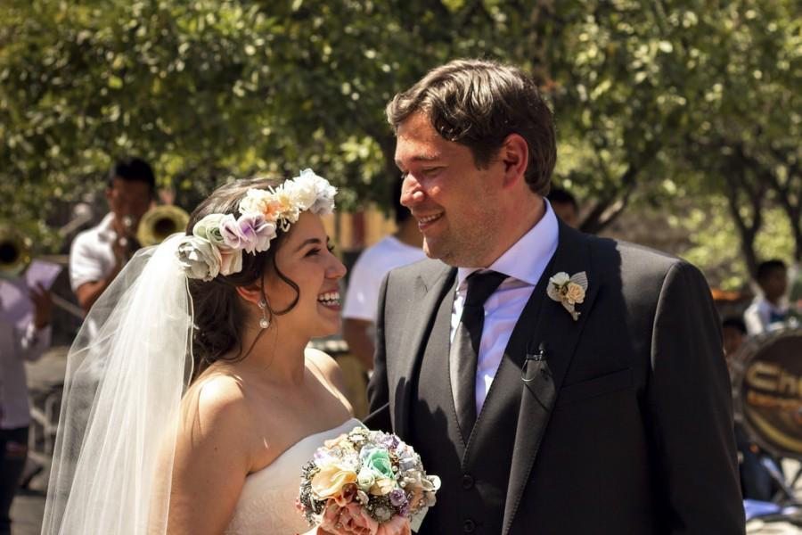 Wedding - Happy Bride + Groom