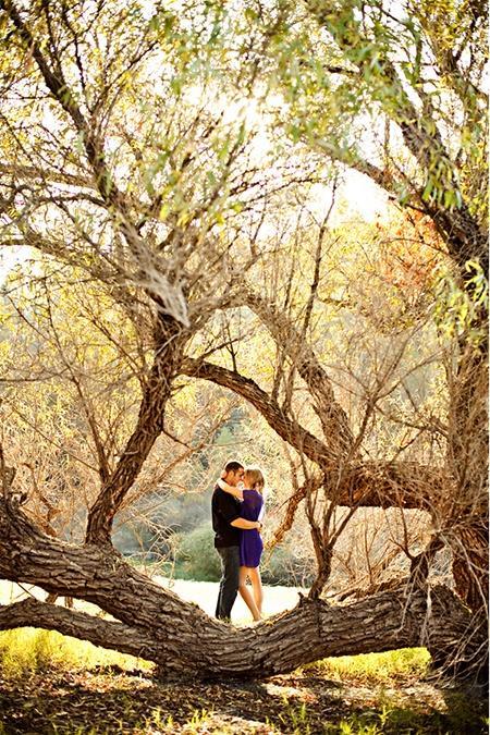 Mariage - Un Tir Chic-Plein air dénommé Engagement De la Californie