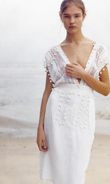 Böhmische Hochzeit - Weißes Kleid #2047829 - Weddbook