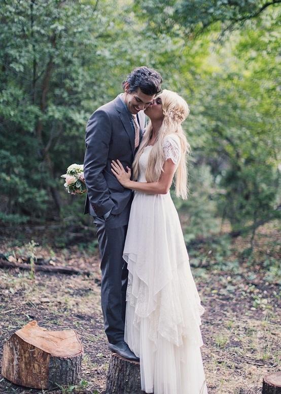 Bohmische Hochzeit Boho Kleid Bohowedding Bohobride 2047853