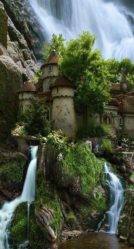 Hochzeit - Wasserfall Schloss in Polen