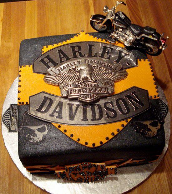 Wedding Cakes Harley Davidson Cake Groom 2047943 Weddbook