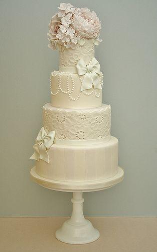 Wedding - Whimsical Wedding Cake.