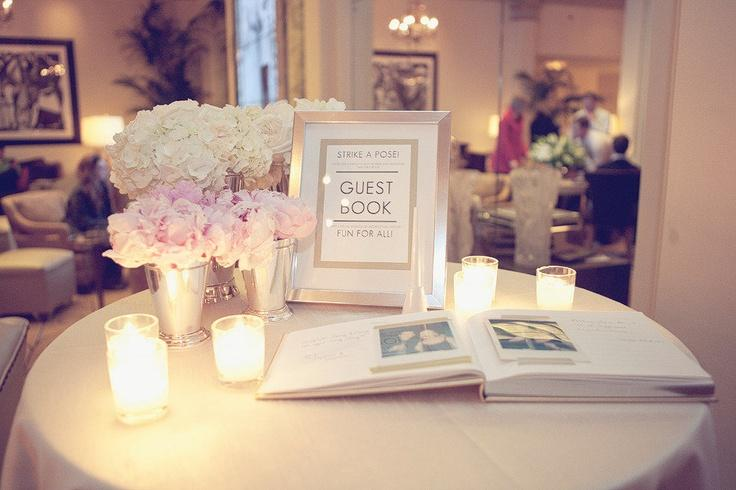 Poloroid Guest Book