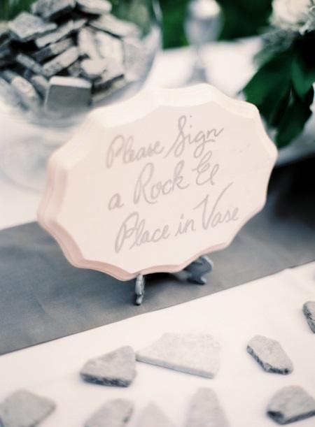 Mariage - Une rose et gris-mariage à thème au zoo de Houston