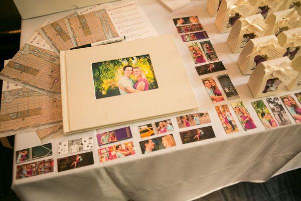 Cute Guestbook Table
