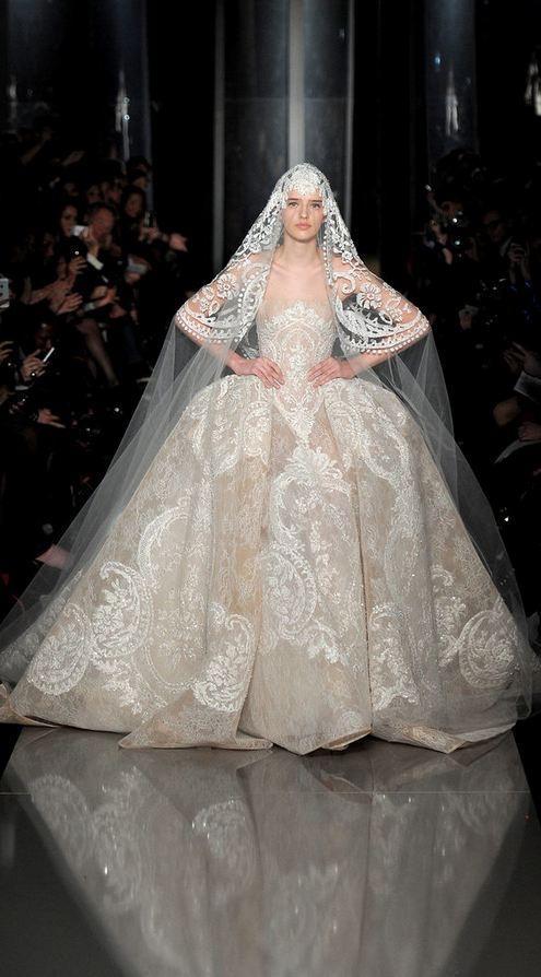 Mariage - Elie Saab - Haute Couture Printemps 2013