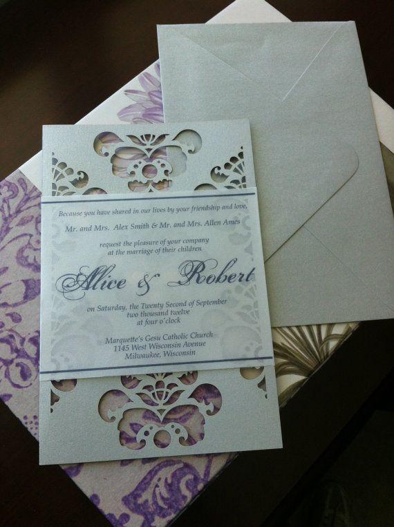 Special Wedding Invitations : unique wedding invitation see more about wedding invitations unique ...