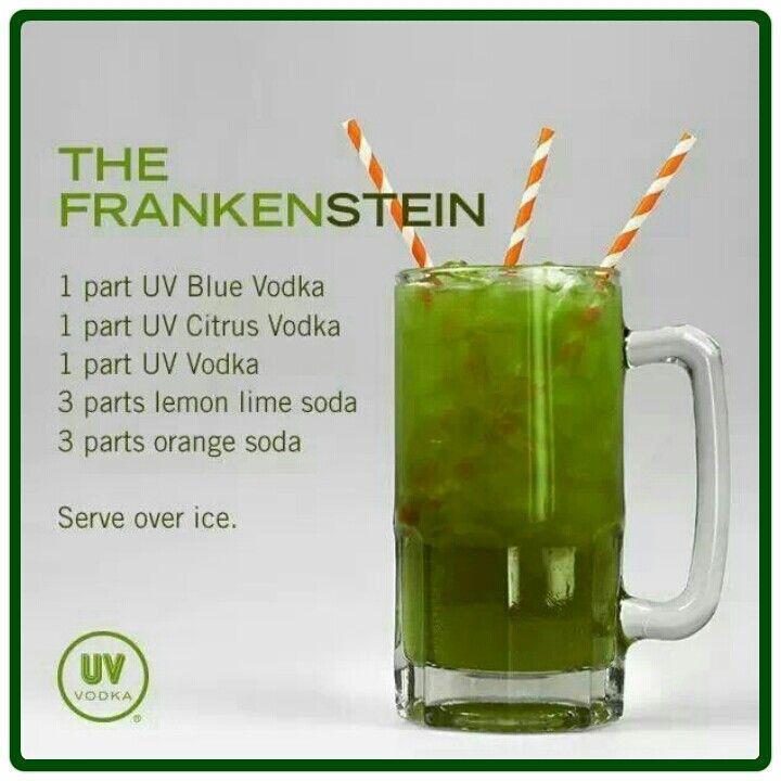 Halloween hornz drink 2048419 weddbook for Halloween punch recipes with vodka