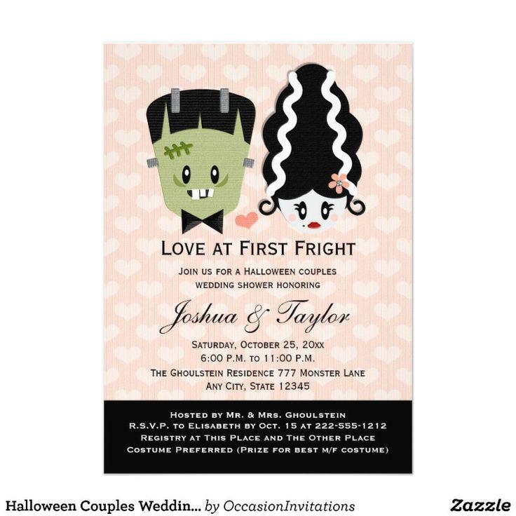 halloween verbindet polterabend einladungen #2048421 - weddbook, Einladung