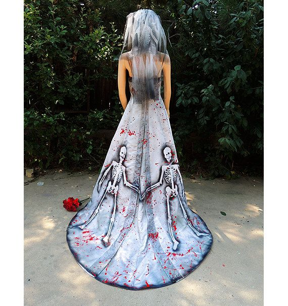 Zombie Wedding Dress For  : And bloody zombie bride see more about wedding gowns