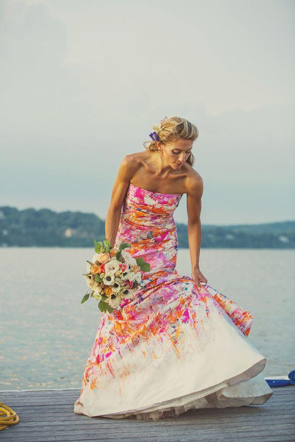 Destination wedding destination wedding bali thailand for Pink and orange wedding dresses