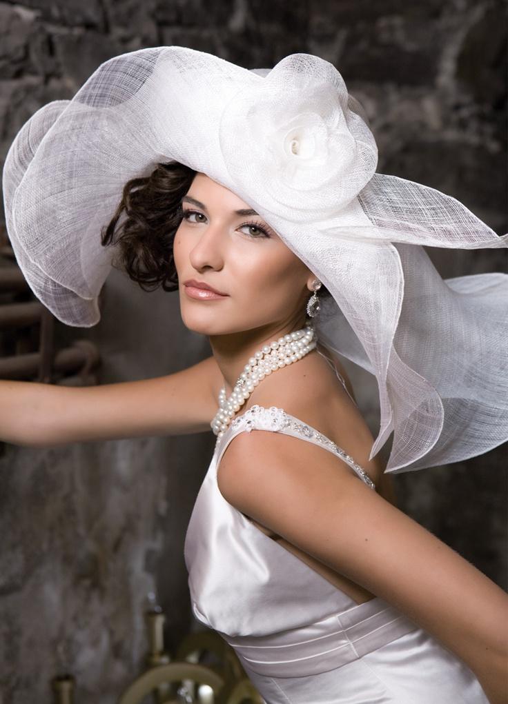 Mariage - Derby Inspiré Chapeau de mariage