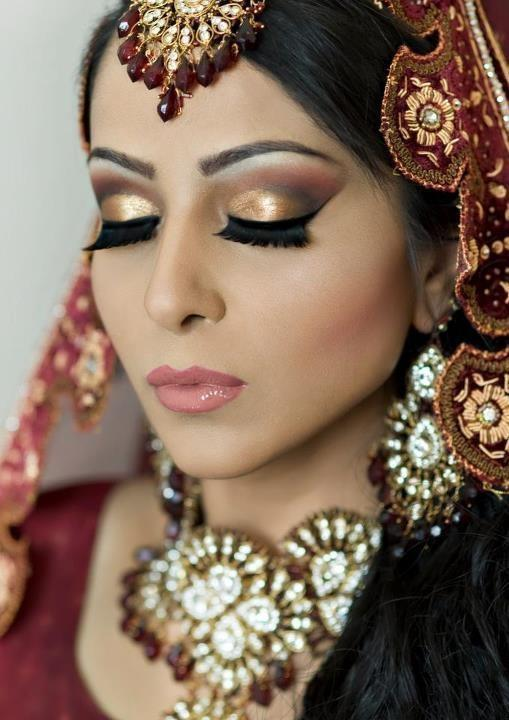 Hochzeit - Indische Braut Make-up
