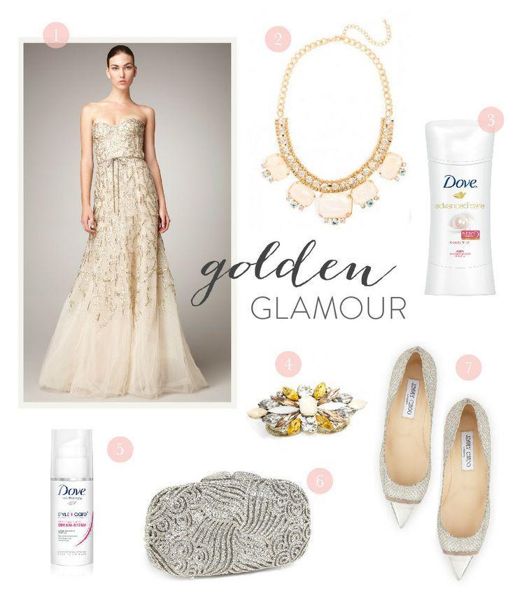 Hochzeit - Oscar Kleid Inspiration aus der Dove ® Advanced Care
