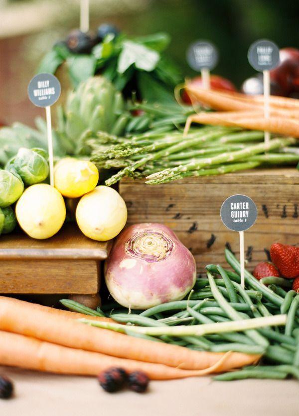 Mariage - Gourmet détails de mariage pour la Obsessed alimentaire