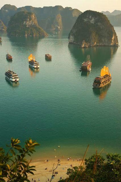 زفاف - خليج ها لونج، فيتنام