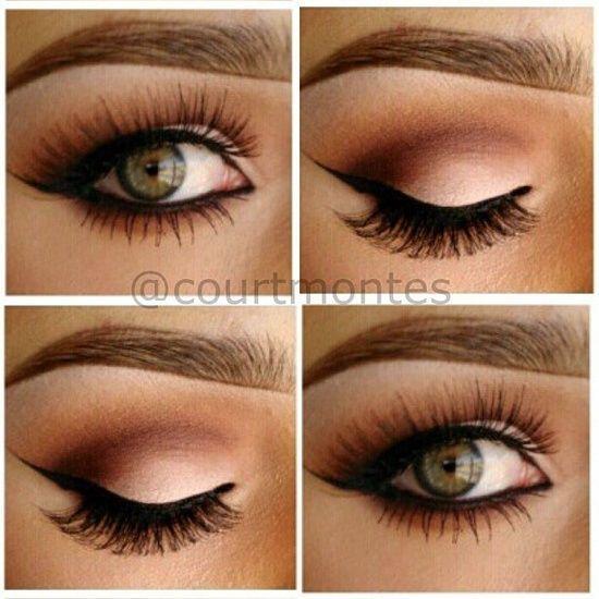 How To Apply Eye Makeup For Wedding Day : Makeup - Gorgeous Eye Makeup #2048930 - Weddbook