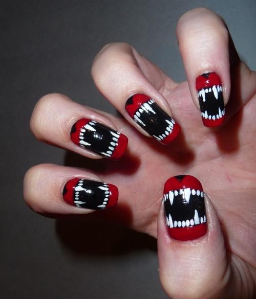 Nagel Vampire Nails 2048966 Weddbook