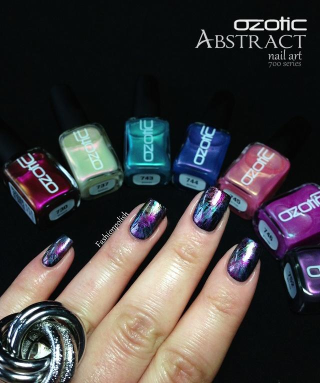 Wedding Nail Designs Ozotic 700 Series Abstract Nail Art 2048972