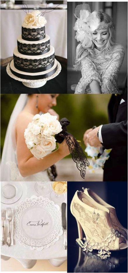 Hochzeit - Classic Black / White Wedding