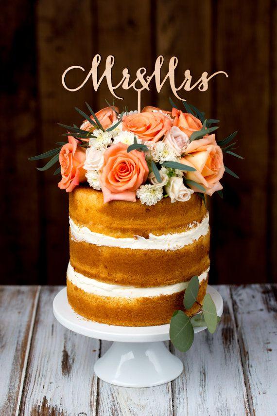 Hochzeitstorte Topper Herr Und Frau Birke 2049008 Weddbook