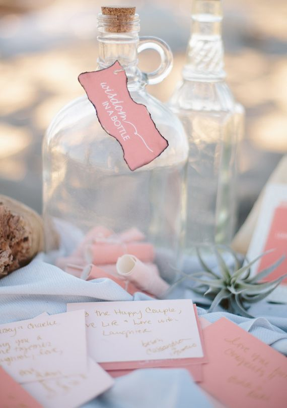 Beach Wedding - Beach Wedding Guestbook Idea #2049111 - Weddbook
