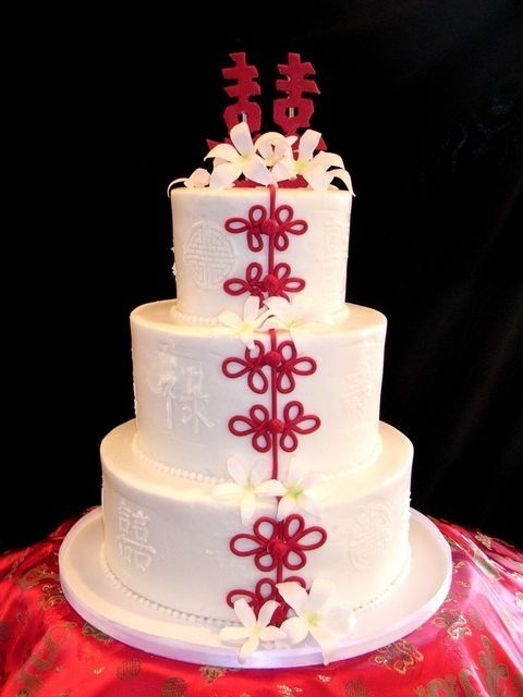 Wedding - Asian Themed Cake