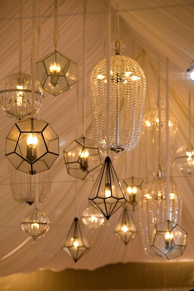 Wedding lights geometric lanterns 2049175 weddbook - Lights and chandeliers ...