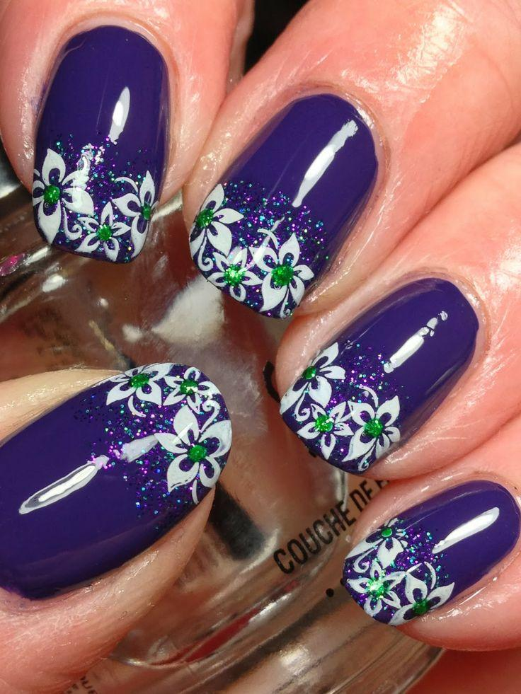 Mardi Gras Nails - Canadian Nail Fanatic #2049192 - Weddbook