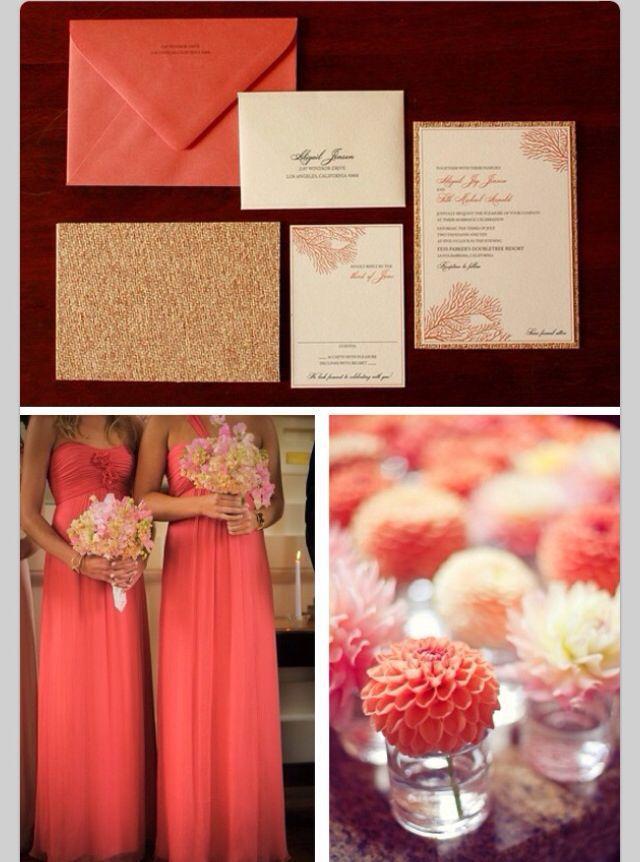 Coral Wedding Coral Wedding 2049239 Weddbook