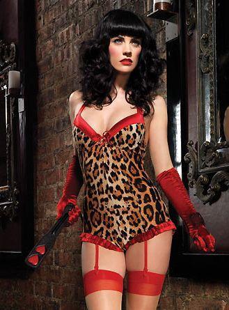 Wedding - Leg Avenue Leopard Print Romper. $37.95.