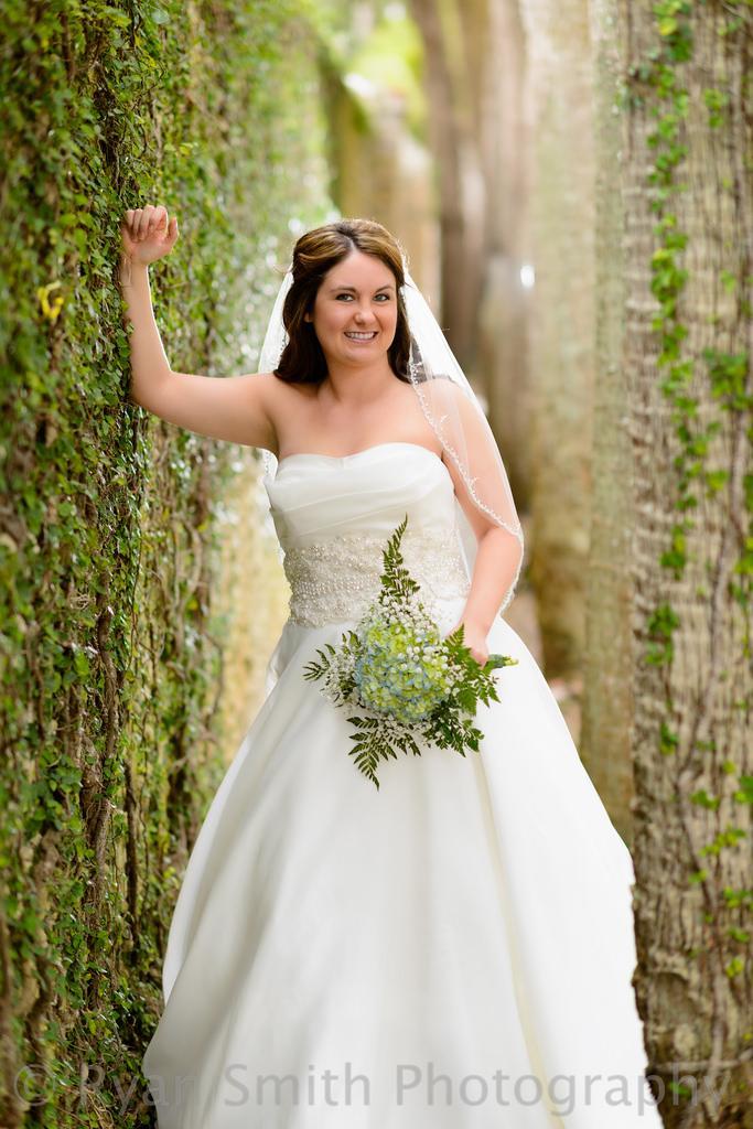 Wedding - Bride Near The Atalaya Castle