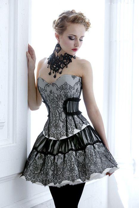 Mariage Gothique Gothique Courte 2049517 Weddbook