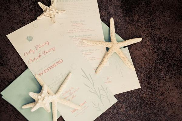tropical wedding ocean inspired invitations 2049642 weddbook