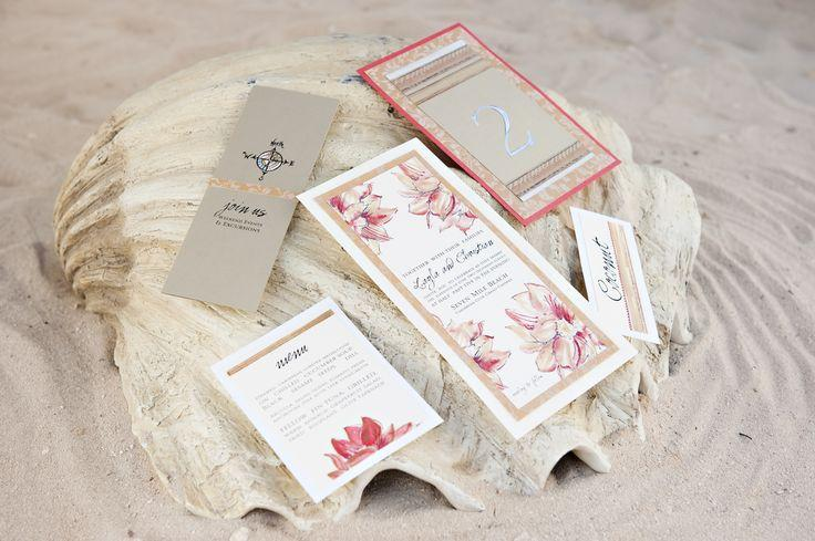 Wedding - Tropical Invitation Suite