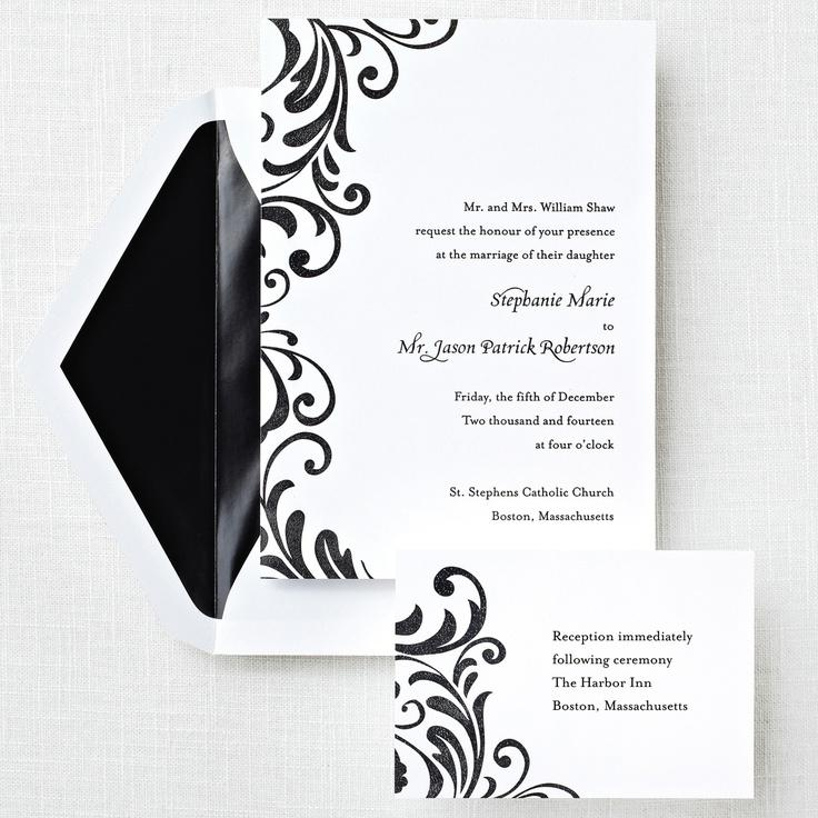 Mariage - Ever After Wedding Invitation