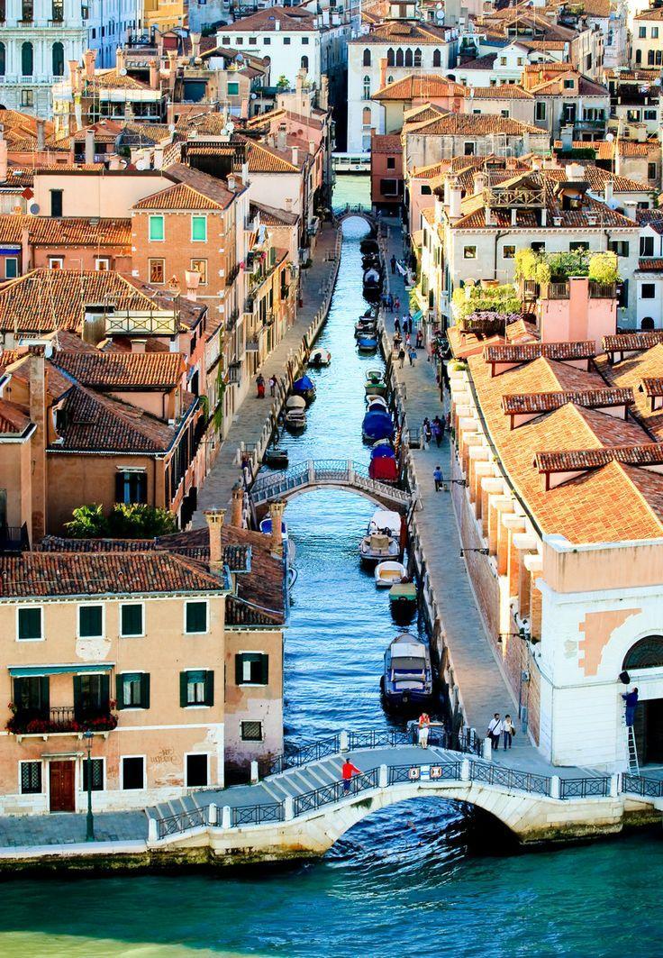 Image result for bird's-eye  Venice