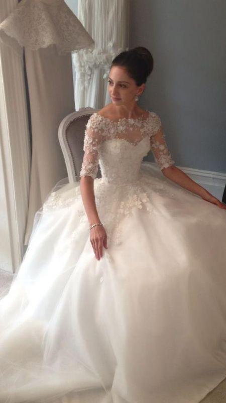 A Truly Stunning Wedding Dress By Steven Khalil #2049973 - Weddbook