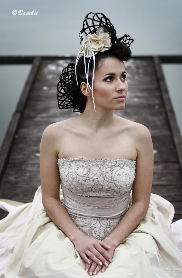 Wedding - Modern hairstyle